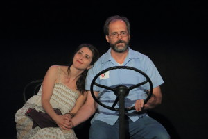 piece I got to direct with Suzanne Balling and David DuBose (photo credit: Kenneth B. Gall)
