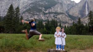 Yosemite jump