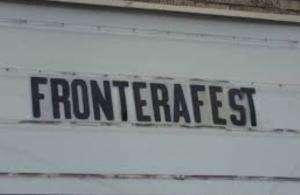 FronteraFest sign