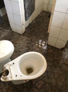 toilet in Kinshasa