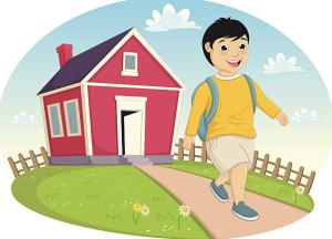 kid leaving home