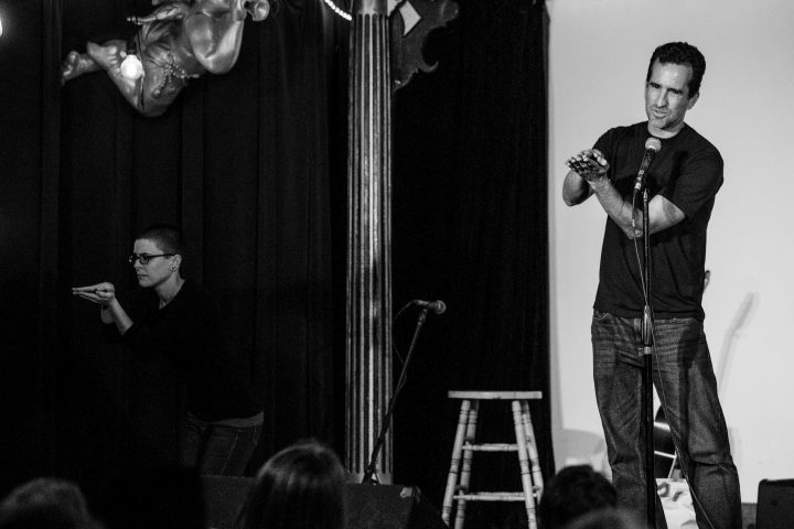 """Five storytellers share their Hijacked tales. Max Langert """"Technology is Hard"""""""
