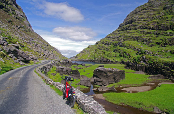 Ring of Kerry bike